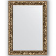 Зеркало настенное 76х106 см в багетной раме - фреска 84 мм.