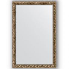 Зеркало настенное 116х176 см в багетной раме - фреска 84 мм.