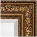 Зеркала в багете виньетка состаренная бронза 109 мм