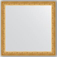 Зеркало настенное 62х62 см в багетной раме - сусальное золото 47 мм.