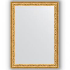 Зеркало настенное 52х72 см в багетной раме - сусальное золото 47 мм.