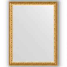 Зеркало настенное 62х82 см в багетной раме - сусальное золото 47 мм.
