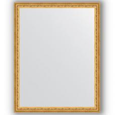 Зеркало настенное 72х92 см в багетной раме - сусальное золото 47 мм.