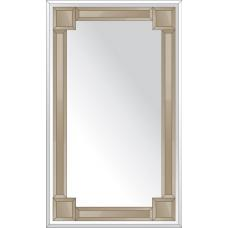 Зеркало с зеркальным обрамлением (бронза) 60х120 см. Серия V-2.