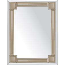 Зеркало с зеркальным обрамлением (бронза) 70х90 см. Серия V-2.