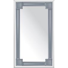 Зеркало с зеркальным обрамлением (графит) 60х100 см. Серия V-2.
