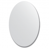 Зеркало настенное, овальное 60х90 см.