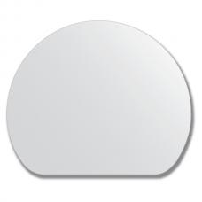 Зеркало настенное, полукруг - 60х50 см.