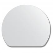 Зеркало настенное, полукруг - 70х60 см.