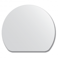 Зеркало настенное, полукруг - 80х70 см.