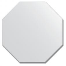 Зеркало настенное 40х40 см - восьмиугольник.