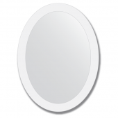 Зеркало настенное с рисунком 60х80 см - овал.