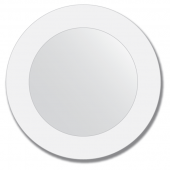 Зеркало настенное с рисунком, круглое - 40 см.
