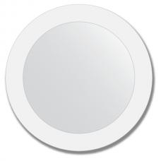 Зеркало настенное с рисунком, круглое - 50 см.