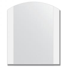 Зеркало настенное с матированными полосами 50х60 см.