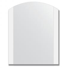 Зеркало настенное с матированными полосами 60х75 см.