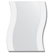 Зеркало настенное с рисунком 40х50 см - волна.