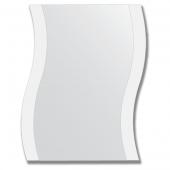 Зеркало настенное с рисунком 60х75 см - волна.