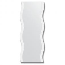 Зеркало настенное с рисунком 60х150 см - волна.