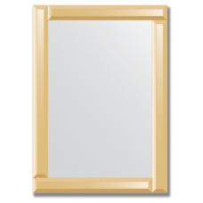 Зеркало с зеркальным обрамлением (бронза) 50х70 см. Серия V-1.