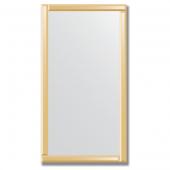 Зеркало с зеркальным обрамлением (бронза) 70х130 см. Серия V-1.