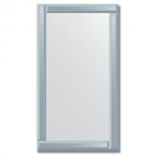 Зеркало с зеркальным обрамлением (графит) 50х90 см. Серия V-1.