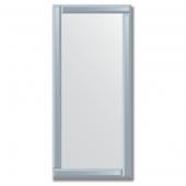 Зеркало с зеркальным обрамлением (графит) 50х110 см. Серия V-1.