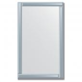 Зеркало с зеркальным обрамлением (графит) 60х100 см. Серия V-1.