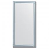 Зеркало с зеркальным обрамлением (графит) 60х120 см. Серия V-1.