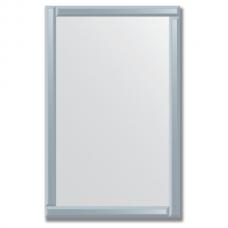 Зеркало с зеркальным обрамлением (графит) 70х110 см. Серия V-1.