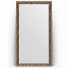 Зеркало напольное 111х200 см в багетной раме - фреска 84 мм.