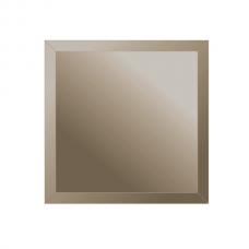Зеркальная плитка с фацетом 10 мм (бронза) (квадрат 25х25 см)