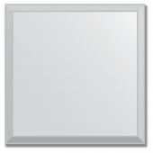 Зеркальная плитка с фацетом 5 мм (серебро) (квадрат 10х10 см)