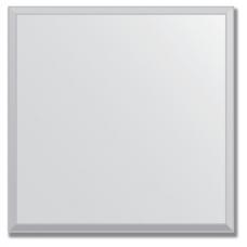 Зеркальная плитка с фацетом 10 мм (серебро) (квадрат 25х25 см)