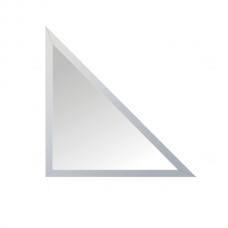 Зеркальная плитка с фацетом 15 мм (серебро) (треугольник 50х50 см)