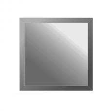 Зеркальная плитка с фацетом 10 мм (графит) (квадрат 25х25 см)